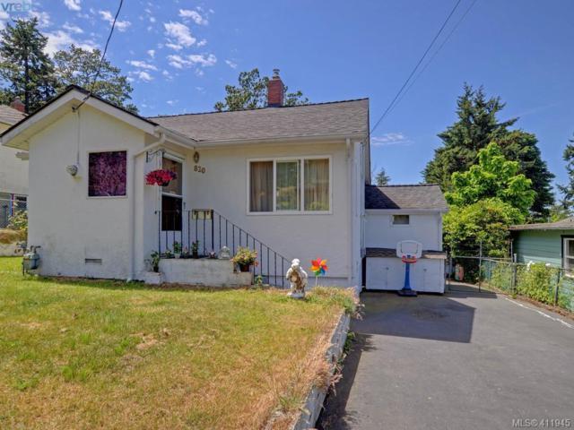 820 Intervale Ave, Victoria, BC V9A 6K6 (MLS #411945) :: Live Victoria BC