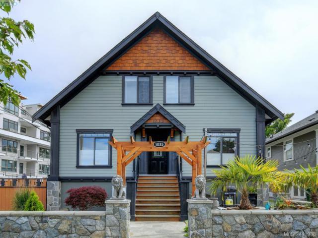 1035 Oliphant Ave #3, Victoria, BC V8V 2T9 (MLS #411988) :: Live Victoria BC