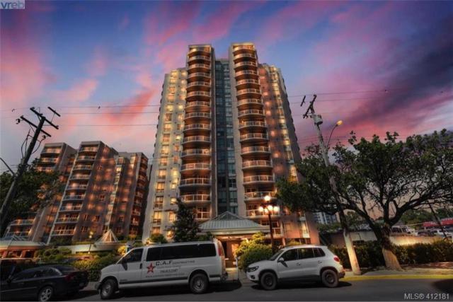 1020 View St #707, Victoria, BC V8V 4Y4 (MLS #412181) :: Live Victoria BC
