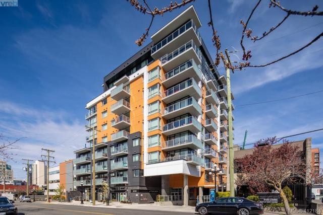 838 Broughton St #802, Victoria, BC V8W 1E4 (MLS #412184) :: Live Victoria BC