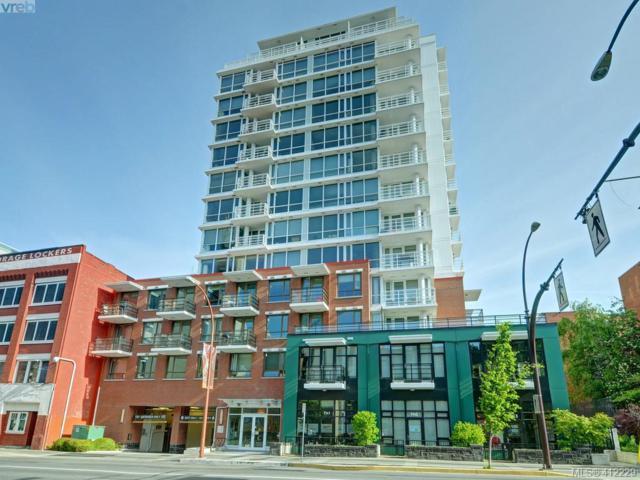 834 Johnson St #404, Victoria, BC V8W 1N3 (MLS #412229) :: Live Victoria BC