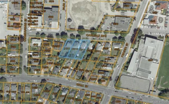 1217-1221 Carlisle Ave, Victoria, BC V9A 5C7 (MLS #412317) :: Live Victoria BC