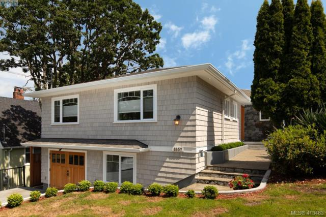 1957 Hampshire Rd, Victoria, BC V8R 5T9 (MLS #413483) :: Day Team Realty