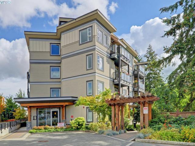 7182 West Saanich Rd #202, Central Saanich, BC V8M 1P2 (MLS #413822) :: Day Team Realty