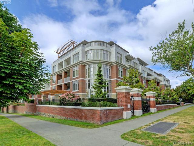 999 Burdett Ave #312, Victoria, BC V8V 3G7 (MLS #413874) :: Day Team Realty