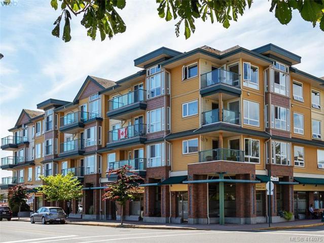 9840 Fifth St #402, Sidney, BC V8L 2X3 (MLS #414075) :: Live Victoria BC