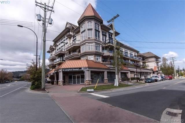 866 Goldstream Ave #205, Victoria, BC V9B 0J3 (MLS #414572) :: Live Victoria BC