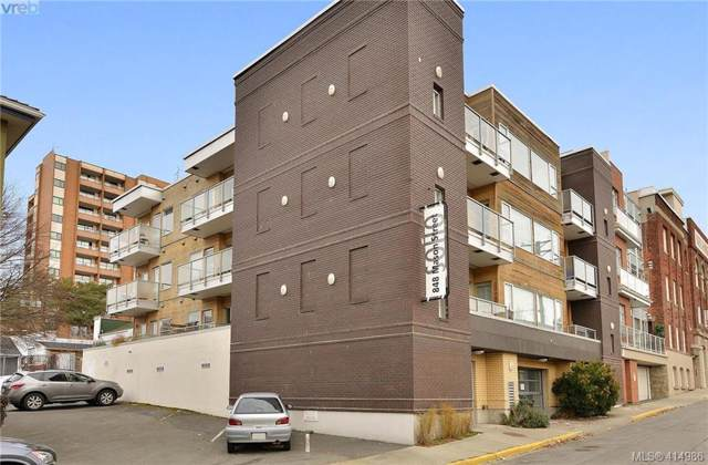 848 Mason St #402, Victoria, BC V8W 0A2 (MLS #414986) :: Live Victoria BC