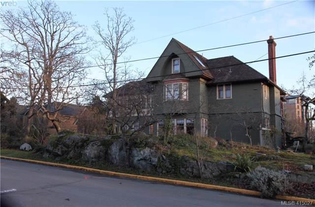 851 Wollaston St #4, Victoria, BC V8S 4V7 (MLS #415027) :: Live Victoria BC