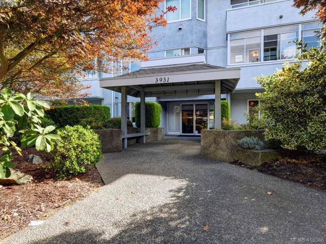 3931 Shelbourne St #208, Victoria, BC V8P 4H9 (MLS #415386) :: Day Team Realty
