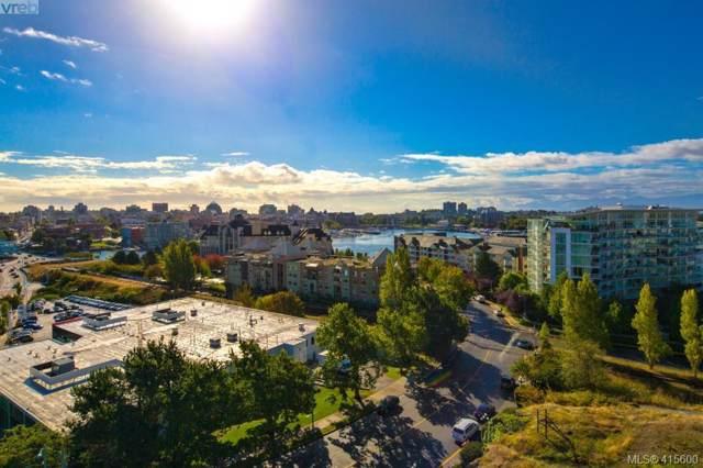 100 Saghalie Rd #610, Victoria, BC V9A 0A1 (MLS #415600) :: Day Team Realty