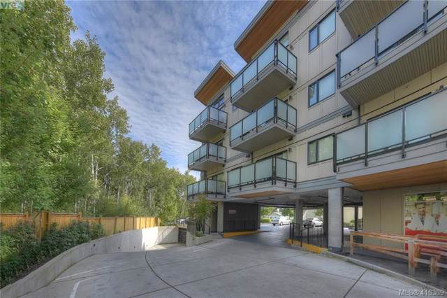 7111 West Saanich Rd #408, Central Saanich, BC V8M 1P7 (MLS #416389) :: Day Team Realty