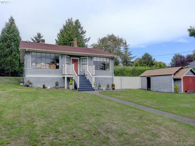 374 Sunset Ave, Victoria, BC V8S 4L2 (MLS #416494) :: Day Team Realty