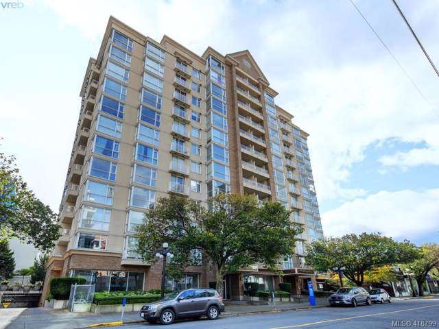 835 View St #801, Victoria, BC V8W 3W8 (MLS #416799) :: Day Team Realty