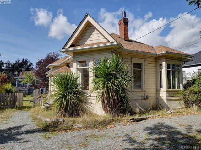 1514 Foul Bay Rd, Victoria, BC V8R 4Z9 (MLS #416811) :: Day Team Realty