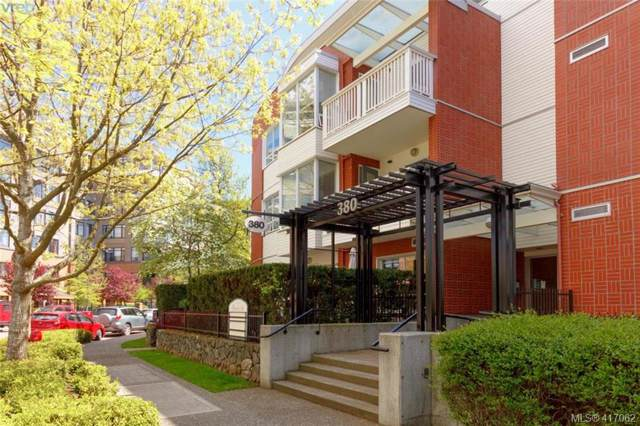 380 Waterfront Cres #407, Victoria, BC V8T 5K3 (MLS #417062) :: Live Victoria BC