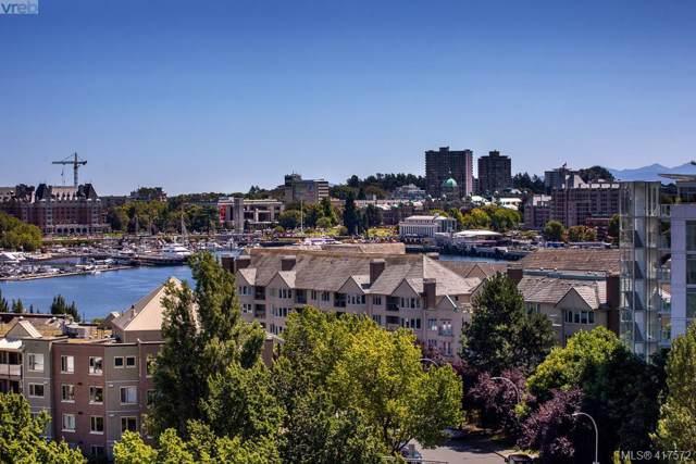 100 Saghalie Rd #509, Victoria, BC V9A 0A1 (MLS #417572) :: Live Victoria BC