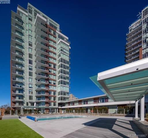 60 Saghalie Rd #807, Victoria, BC V9A 0H1 (MLS #418867) :: Live Victoria BC