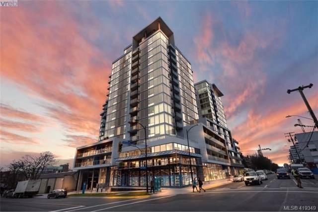 989 Johnson St #508, Victoria, BC V8V 3N7 (MLS #419349) :: Live Victoria BC