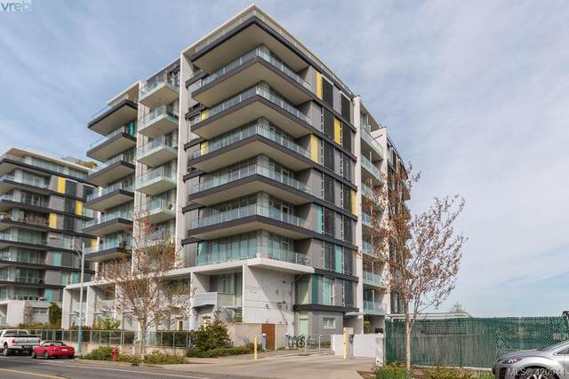 373 Tyee Rd #307, Victoria, BC V9A 0B3 (MLS #420944) :: Day Team Realty