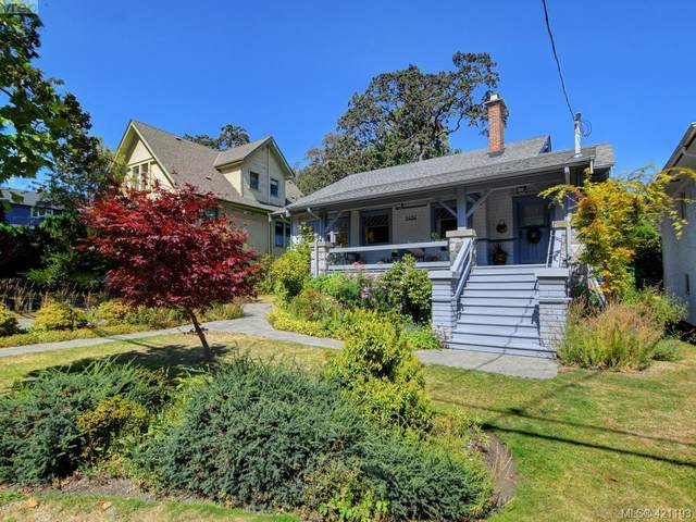 2434 Cranmore Rd, Victoria, BC V8R 1Z7 (MLS #421193) :: Day Team Realty