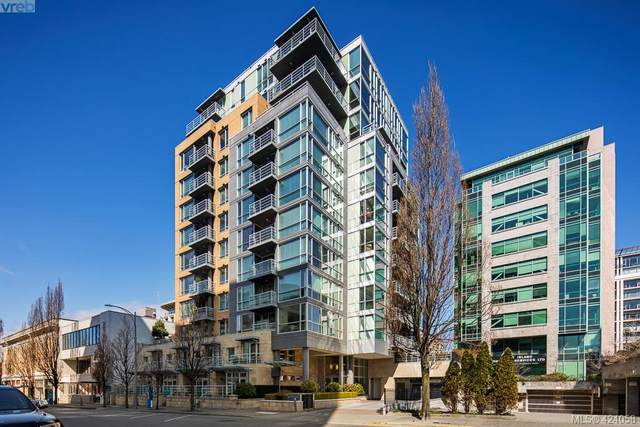 732 Cormorant St #1001, Victoria, BC V8W 4A5 (MLS #424058) :: Day Team Realty