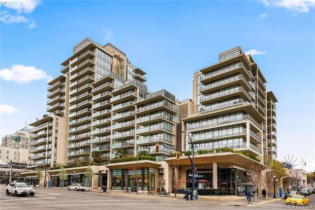 707 Courtney St #1401, Victoria, BC V8W 0A9 (MLS #428161) :: Day Team Realty