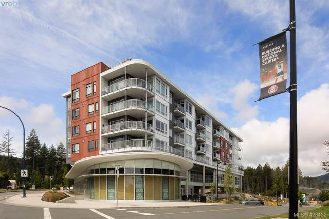 1311 Lakepoint Way #401, Victoria, BC V9B 0S7 (MLS #428432) :: Day Team Realty