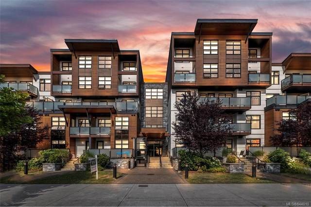 4000 Shelbourne St #412, Saanich, BC V8N 3E4 (MLS #844010) :: Day Team Realty