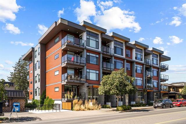 7162 West Saanich Rd #403, Central Saanich, BC V8M 1P6 (MLS #854754) :: Day Team Realty