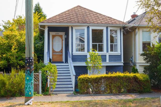 2235 Shakespeare St, Victoria, BC V8R 4G2 (MLS #855193) :: Day Team Realty