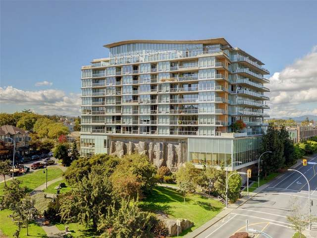 160 Wilson St #1014, Victoria, BC V9A 7P9 (MLS #858317) :: Day Team Realty