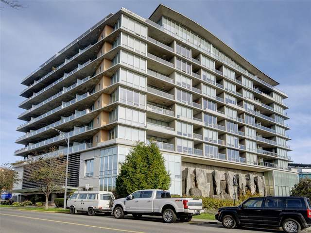 160 Wilson St #801, Victoria, BC V9A 7P9 (MLS #858417) :: Day Team Realty