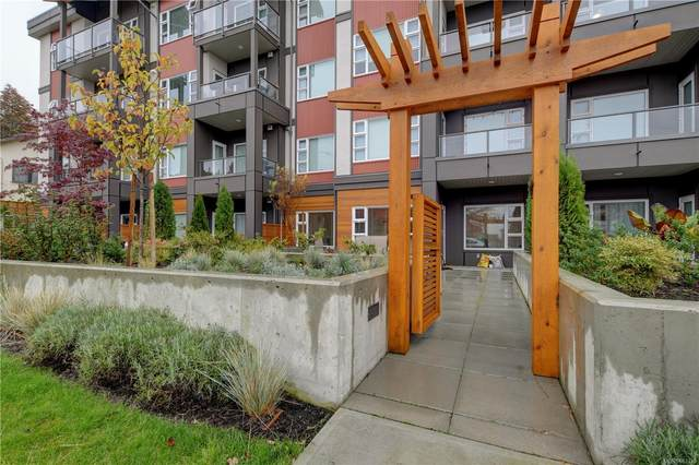 3333 Glasgow Ave #111, Saanich, BC V8X 1M5 (MLS #863330) :: Day Team Realty