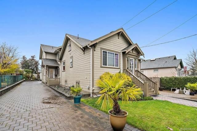 866 Old Esquimalt Rd B, Esquimalt, BC V9A 4X2 (MLS #866364) :: Call Victoria Home