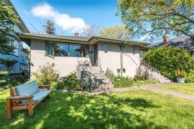 546-548 Linden Ave, Victoria, BC V8V 4G5 (MLS #872156) :: Call Victoria Home
