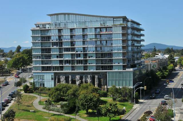 160 Wilson St #603, Victoria, BC V9A 7P9 (MLS #872167) :: Day Team Realty