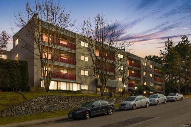 3255 Glasgow Ave #406, Saanich, BC V8X 4S4 (MLS #872291) :: Day Team Realty