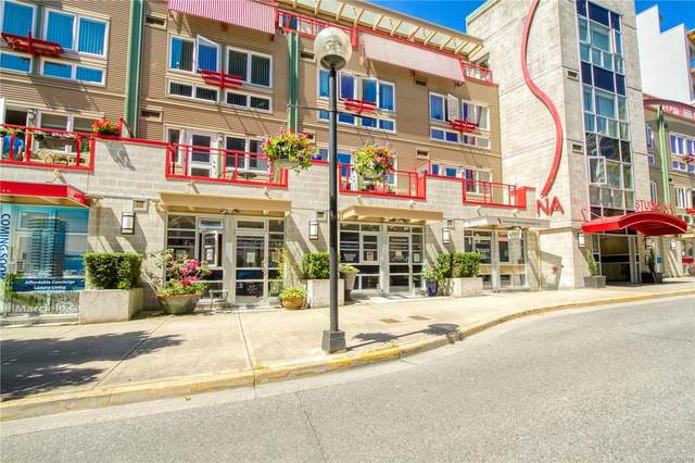 99 Chapel St #404, Nanaimo, BC V9R 5H3 (MLS #872717) :: Call Victoria Home
