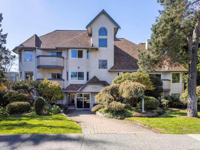 9882 Fifth St #424, Sidney, BC V8L 2X3 (MLS #872760) :: Day Team Realty