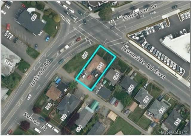 515 Burnside Rd E, Victoria, BC V8T 2X7 (MLS #873404) :: Pinnacle Homes Group