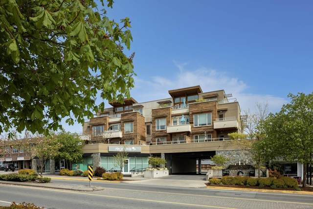 7161 West Saanich Rd #302, Central Saanich, BC V8M 1P7 (MLS #873901) :: Pinnacle Homes Group