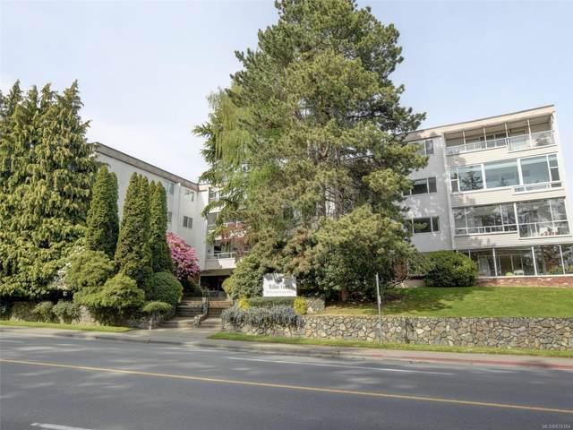 190 Gorge Rd #305, Saanich, BC V9A 1M4 (MLS #876384) :: Pinnacle Homes Group