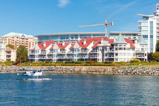 55 Songhees Rd #112, Victoria, BC V9A 6T3 (MLS #876548) :: Pinnacle Homes Group