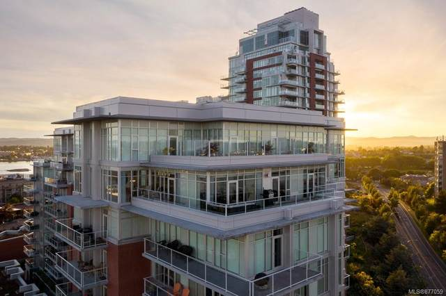 100 Saghalie Rd 1004/1005, Victoria, BC V9A 0A1 (MLS #877059) :: Pinnacle Homes Group
