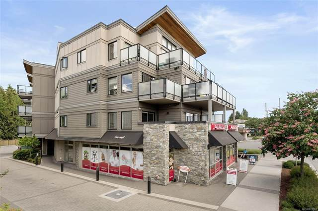 7111 West Saanich Rd #205, Central Saanich, BC V8M 1P7 (MLS #878003) :: Day Team Realty