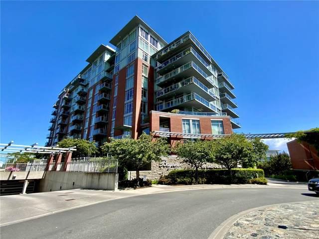 100 Saghalie Rd #101, Victoria, BC V9A 0A1 (MLS #878779) :: Pinnacle Homes Group