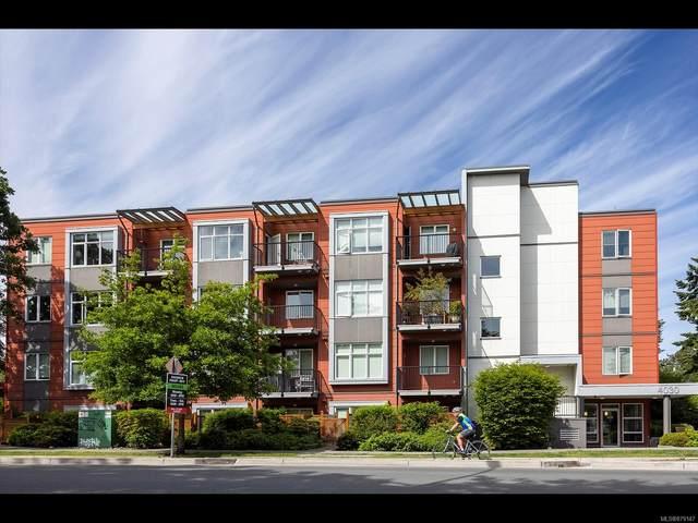 4030 Borden St #302, Saanich, BC V8X 2E9 (MLS #879147) :: Pinnacle Homes Group