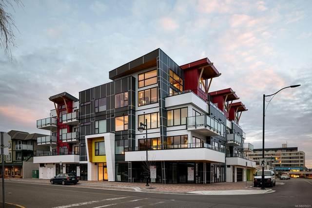 2526 Bevan Ave #401, Sidney, BC V8L 1W3 (MLS #879221) :: Pinnacle Homes Group