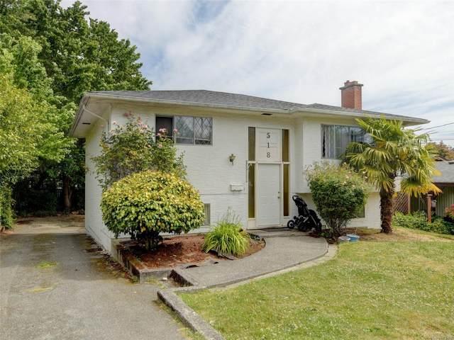 518 Walter Ave, Saanich, BC V9A 2E5 (MLS #879369) :: Pinnacle Homes Group